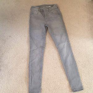 Old Navy Gray Skinny Jeans